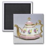 Meissen octagonal teapot, c.1718 2 inch square magnet