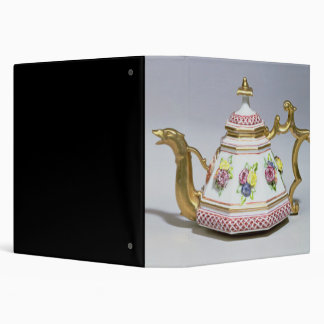 Meissen octagonal teapot, c.1718 binder