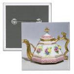Meissen octagonal teapot, c.1718 button