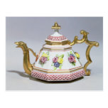 Meissen octagonal teapot, c.1718 postcards