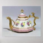 Meissen octagonal teapot, c.1718 posters
