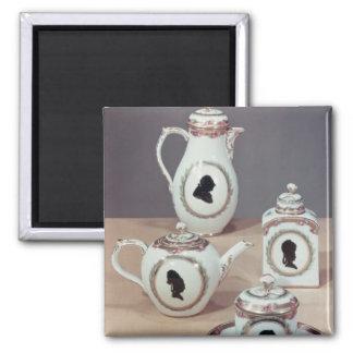 Meissen tea service refrigerator magnets