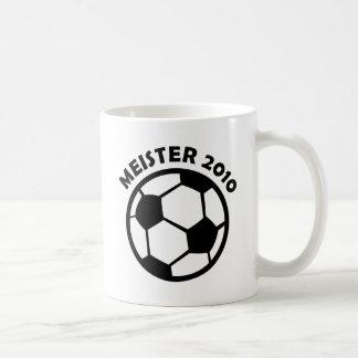 Meister 2010 Fußball Soccer Meister Coffee Mug