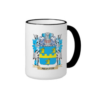 Meister Coat of Arms - Family Crest Mugs