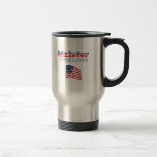 Meister Patriotic American Flag 2010 Elections Travel Mug