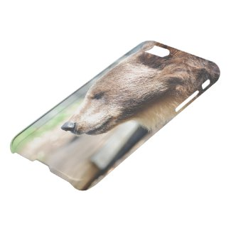 "Meister Petz"" iPhone 7 Clearly™ Deflector Case"