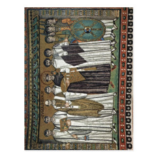 Meister von San Vitale en Ravena Chormosaiken aden Postales