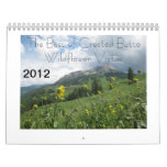 Mejor 2012 de los Vistas con cresta del Wildflower Calendario