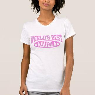 Mejor Abuela del mundo Camiseta