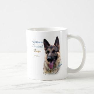 Mejor amigo 2 del perro de pastor alemán taza
