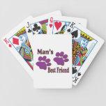 Mejor amigo baraja de cartas