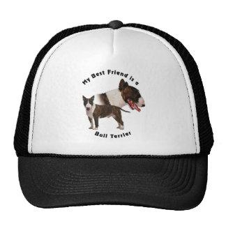 Mejor amigo bull terrier gorro de camionero