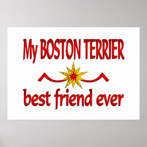 Mejor amigo de Boston Terrier Impresiones