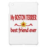 Mejor amigo de Boston Terrier iPad Mini Carcasas