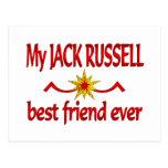 Mejor amigo de Jack Russell Postal