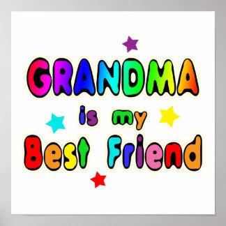 Mejor amigo de la abuela impresiones