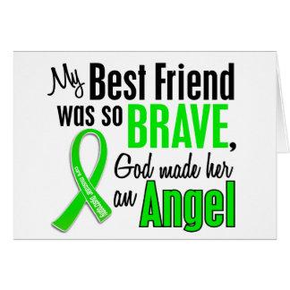 Mejor amigo de la distrofia muscular del ángel 1 ( felicitación