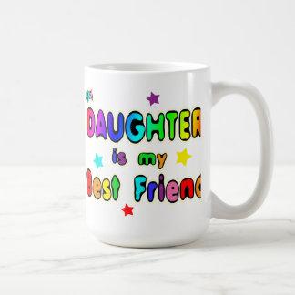 Mejor amigo de la hija taza