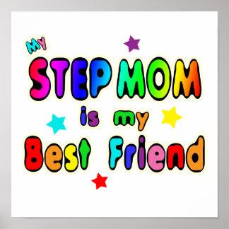 Mejor amigo de la mamá del paso póster