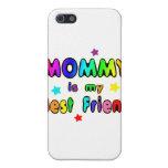 Mejor amigo de la mamá iPhone 5 protectores