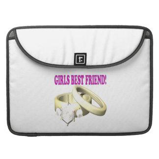 Mejor amigo de los chicas fundas para macbooks