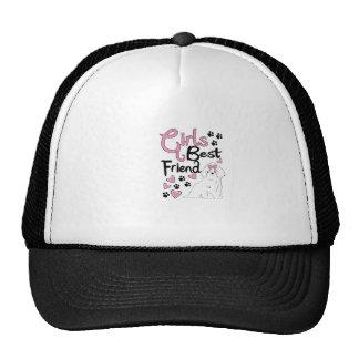Mejor amigo de los chicas gorras de camionero