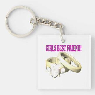 Mejor amigo de los chicas llaveros