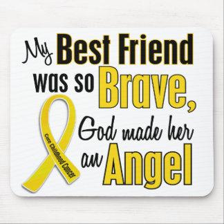 Mejor amigo del ÁNGEL 1 del cáncer de la niñez (fe Tapete De Ratones