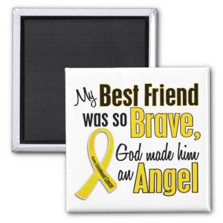 Mejor amigo del ÁNGEL 1 del cáncer de la niñez (va Imán Cuadrado