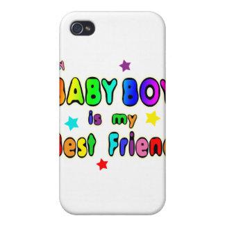 Mejor amigo del bebé iPhone 4 cárcasa