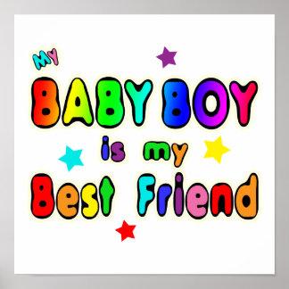 Mejor amigo del bebé posters