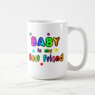 Mejor amigo del bebé taza
