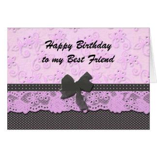 mejor amigo del feliz cumpleaños tarjeta de felicitación