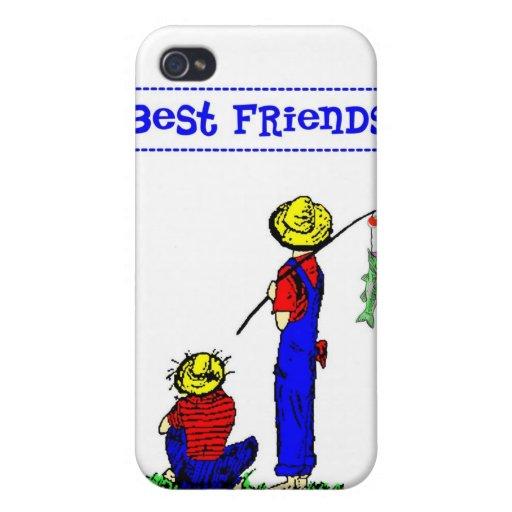 Mejor amigo Fisherboys iPhone 4 Protector