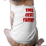 Mejor amigo lindo del colmillo del ccsme camisas de mascota