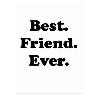 Mejor amigo nunca postal