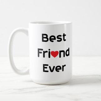 Mejor amigo nunca taza