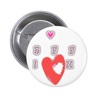 Mejor amigo para siempre BFF. de BFF Pin Redondo 5 Cm