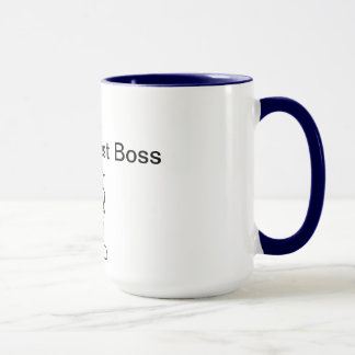 Mejor Boss del mundo 2do Taza
