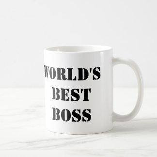 Mejor Boss del mundo de la oficina Tazas De Café