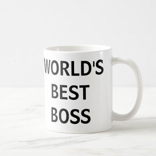 MEJOR BOSS del MUNDO - la taza de la oficina