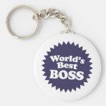 Mejor Boss del mundo Llaveros
