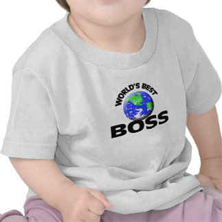 Mejor Boss del mundo Camisetas