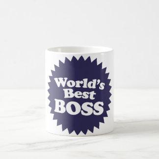 Mejor Boss del mundo Taza