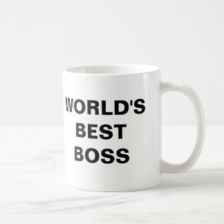 Mejor Boss del mundo Tazas