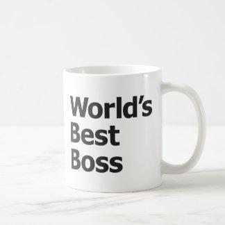 Mejor Boss del mundo Tazas De Café