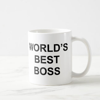 Mejor Boss del mundo Taza Clásica