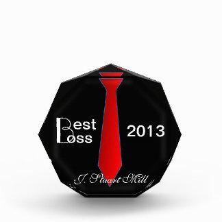 Mejor Boss (fecha y nombre de encargo)