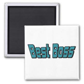Mejor Boss Imán Cuadrado