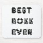 Mejor Boss nunca Alfombrilla De Raton